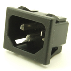 Power inlet receptacle (socket)